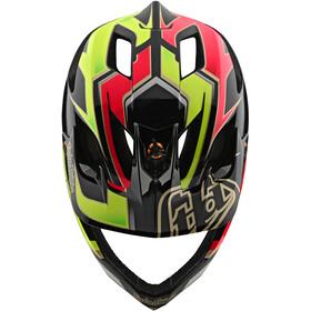 Troy Lee Designs Stage MIPS Helmet ropo pink/yellow